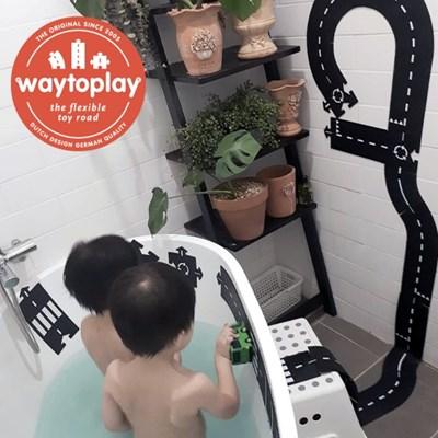 웨이투플레이 12피스 자동차놀이 도로놀이 물놀이 목욕놀이 장난감
