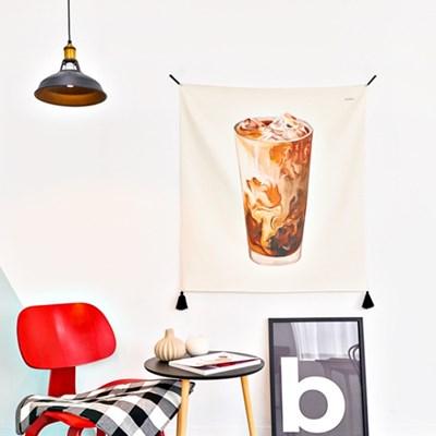 커피시리즈 패브릭 포스터 / 가리개커튼