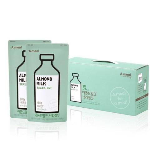 에이밀 아몬드밀크 브라질넛 BOX(185ml x 15개입)