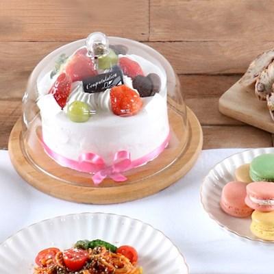 우드 유리 케이크돔