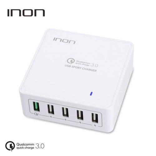 아이논 퀵차지3.0 5포트 USB 고속 멀티충전기 IN-UC510