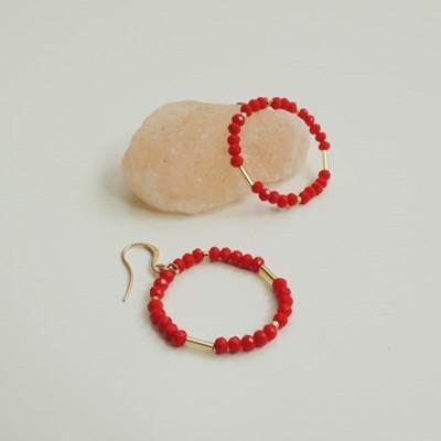 The RED Hoof Earrings