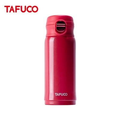 타푸코 TAFUCO 초경량 원터치 텀블러 330ml 레드 / TST-330RD