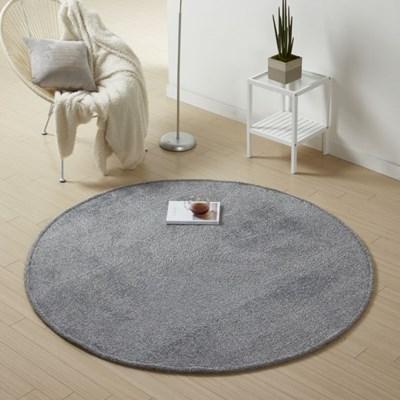 [가온길카페트]샤기 로이 카페트 원형150x150cm(2색상)
