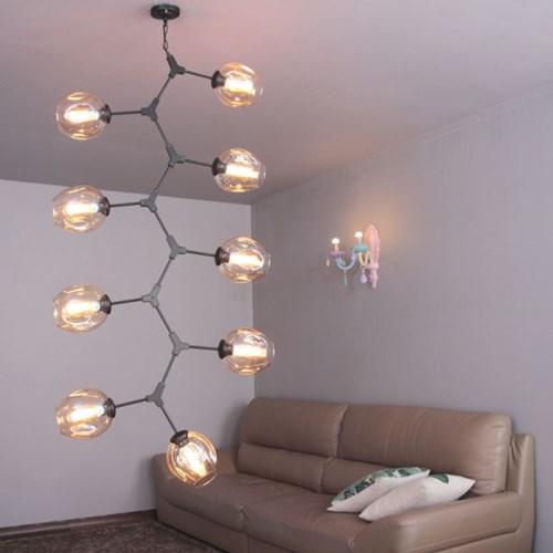 boaz 코튼9등 방등 거실등 LED 카페 인테리어 조명