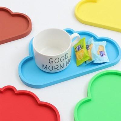 빠띠라인 실리콘 컵받침 구름모양