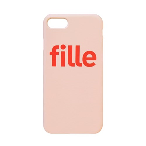 fille Pink iPhone Case - 유광/무광