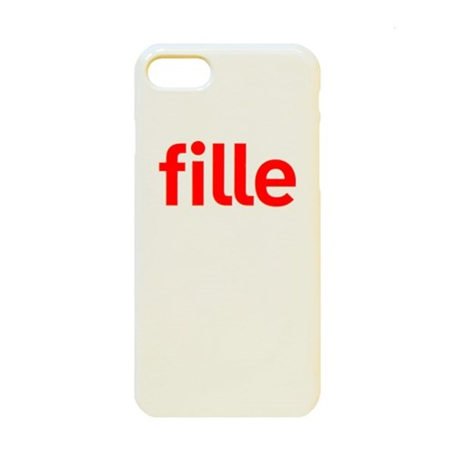 fille iPhone Case - 유광케이스