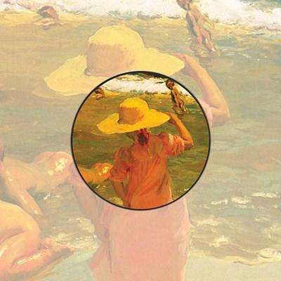 [명화] 호아킨 소로야 해변의모자소녀