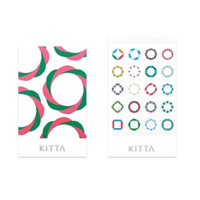 [KITTA seal] 포켓형 데코 스티커_KITD007