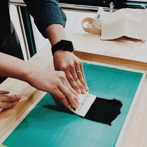 [텐텐클래스] (마포) 실크스크린으로 나만의 소품 만들기