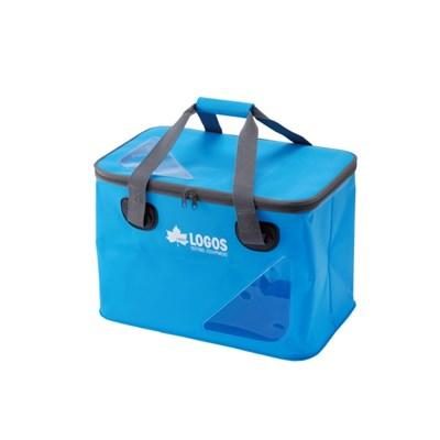 로고스 아쿠아 캠핑 설거지통 블루 접이식 방수가방 35L 88230040BL