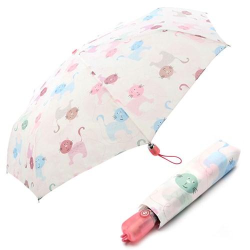 [VOGUE] 보그 3단 자동 우산(양산겸용) - 낭만고양이