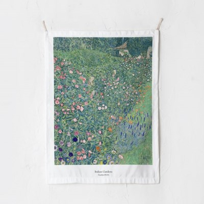 패브릭 포스터 태피스트리 가리개 커튼 이탈리안 가든_(1850974)