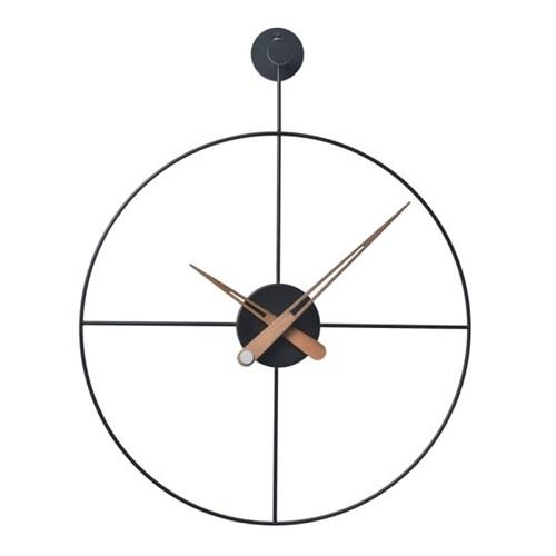 와이어벽시계/원형/BK