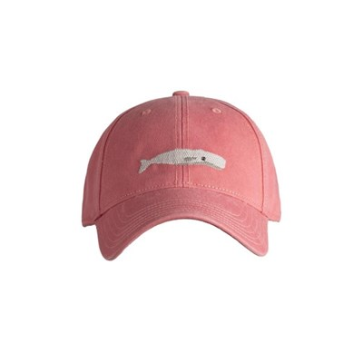 [HardingLane] Adult`s Hats White Whale on New England Red