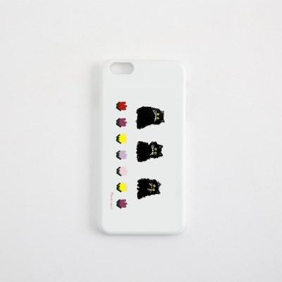 하드케이스 모드루이스 Three Black Cats