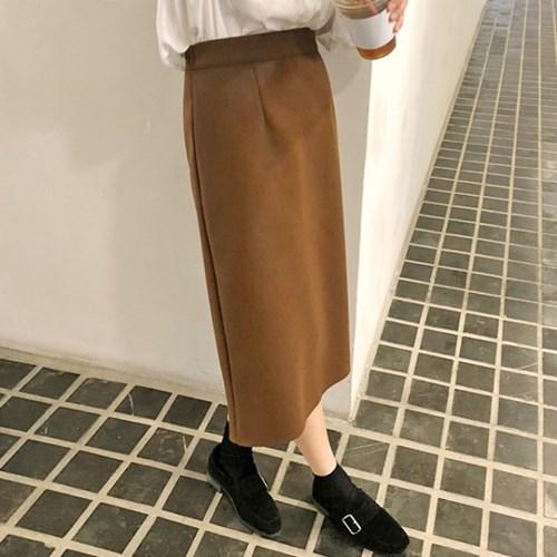 [프롬비기닝]Felt banding midi skirt_S
