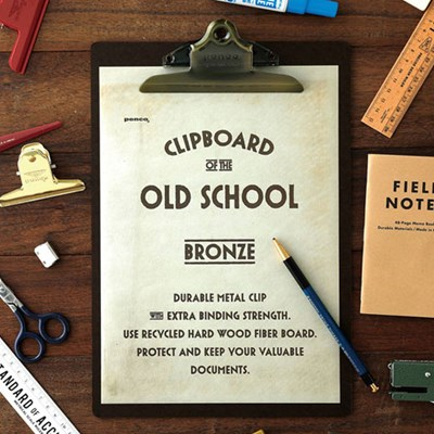 Penco Clipboard O / S Bronze - A4