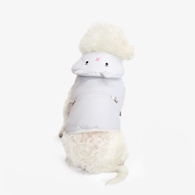 [한정판] 라이트 웜 토끼 패딩 그레이
