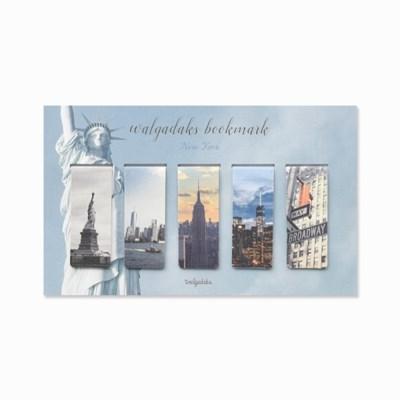 마그네틱 북마크 - 뉴욕 5P