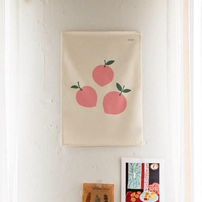 복숭아 패브릭 포스터 / 가리개커튼