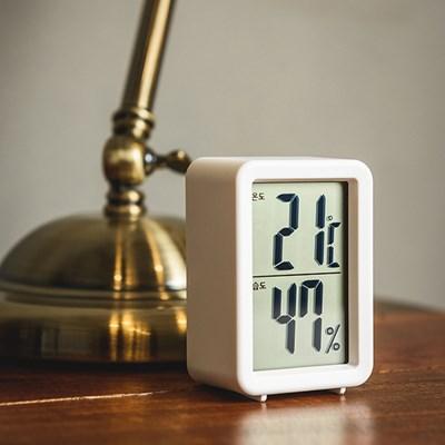 오리엔트 OT1585TH 벽탁상겸용 큰숫자 디지털 온도습도계 OT1585