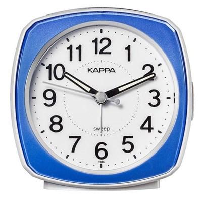 카파 T886 블루 무소음 탁상시계 알람라이트
