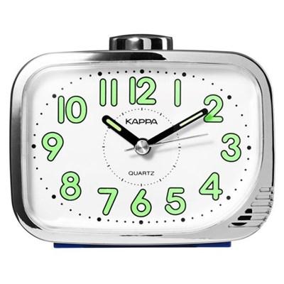 카파 T872 블루 강력한 내장벨알람 탁상시계 형광숫자판