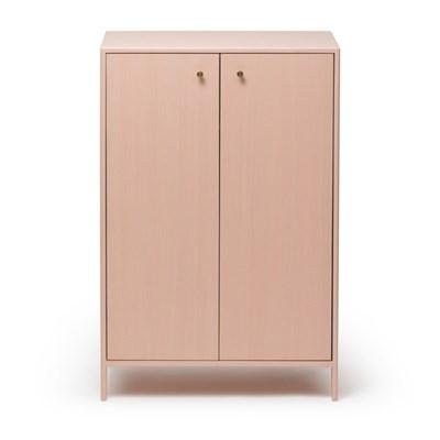 [밀크트리] 마시멜로 옷장- 핑크/그레이