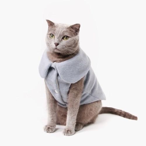 I'm alpaca vest(아임 알파카 베스트)_SKYBLUE