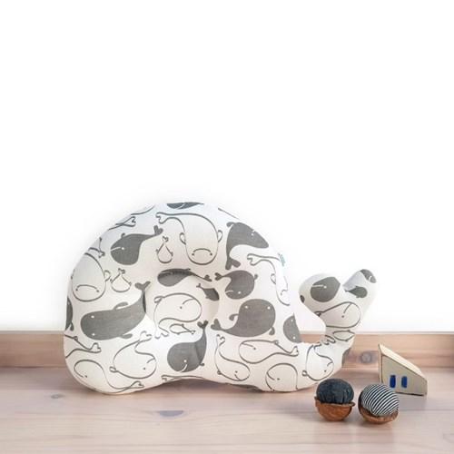 애기바당 아기베개 수애기 짱구베개 돌고래패턴