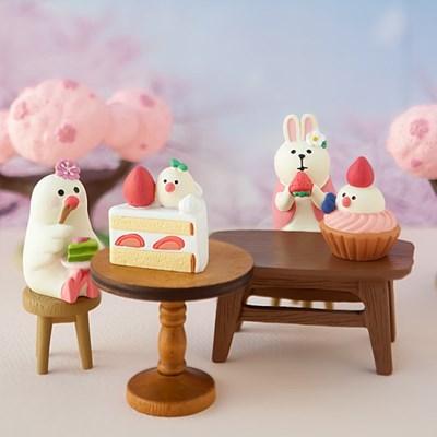 데꼴 2019 테이블 피규어 strawberry edition