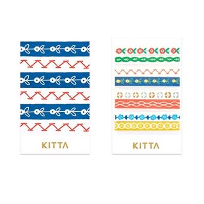 [KITTA Slim] 포켓형 마스킹 테이프_KITS006 꽃
