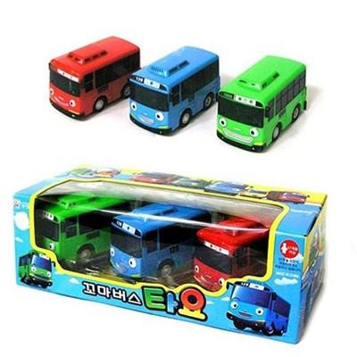 꼬마버스 타요 A 3세트 태엽 장난감