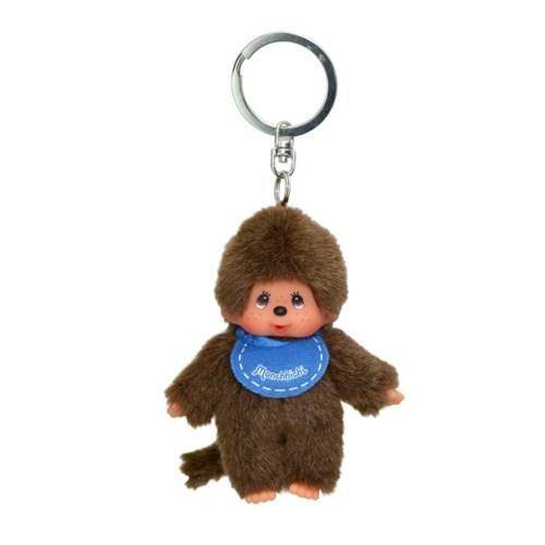 Classic Monchhichi Blue Boy Keychain (European Edition)