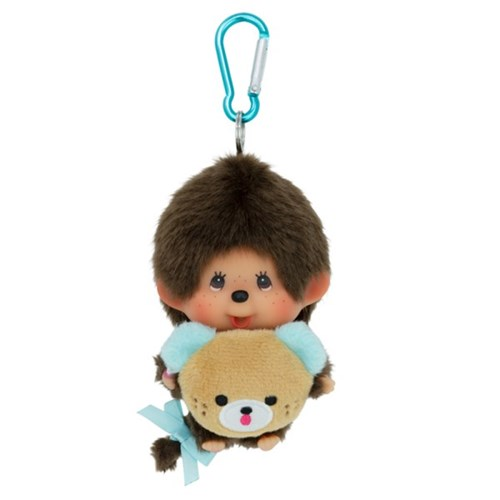 45th Anniverssary Happy Trip Monchhichi Big Head SS Boy
