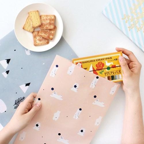 코니테일 기프트팩 L (어린이집 생일선물 답례품포장지)