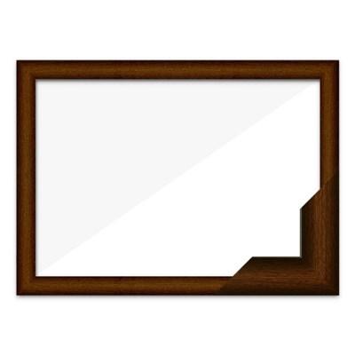 퍼즐액자 38x52 고급형 우드 브라운