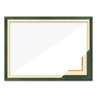 퍼즐액자 38x52 고급형 수지 그린