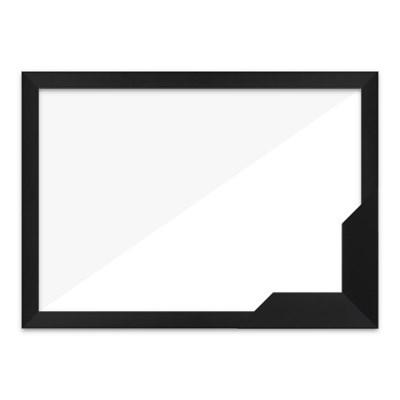 퍼즐액자 51x73.5 고급형 슬림 우드 블랙