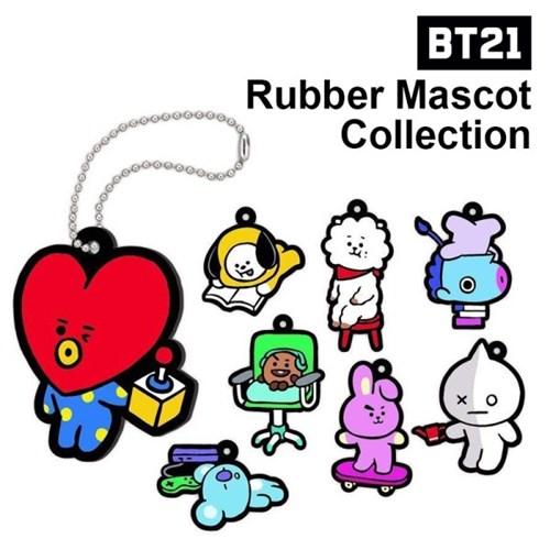 BT21 러버 마스코트 컬렉션(랜덤)