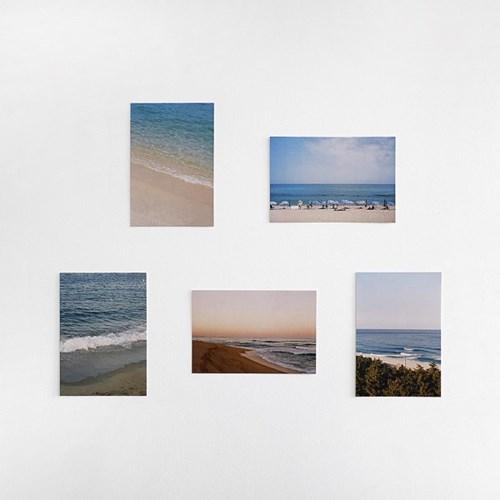 아름다운 우리나라 바다의 사계절 serise 엽서