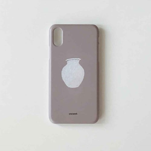 Pottery iphone case