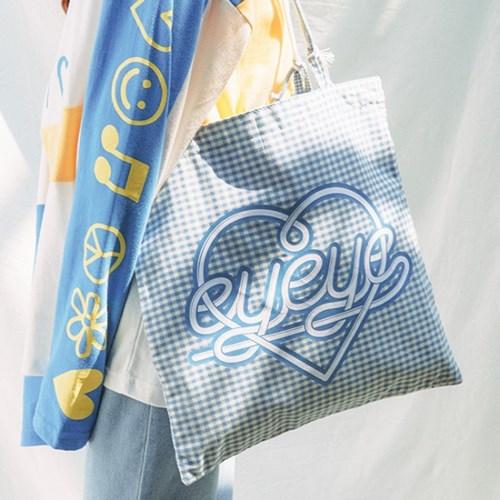 EYEYE CHECK STRING BAG_BLUE (EEON1BAY01W)