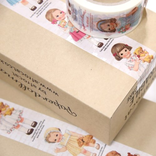 paper doll mate box tape_ver.2