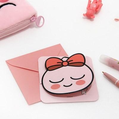 카카오프렌즈 페이스 형태 카드_(3948047)