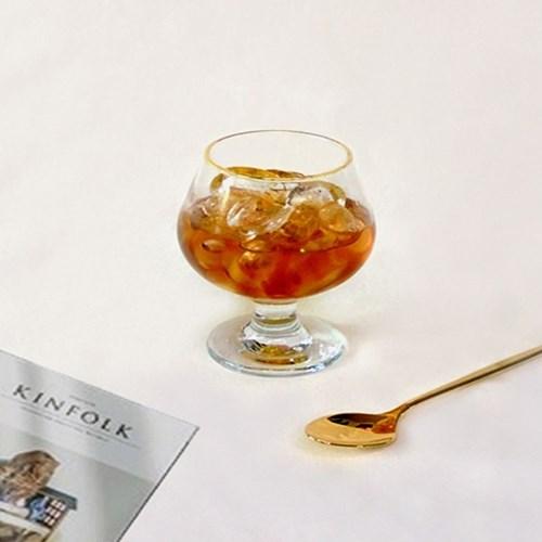 골드라인 브랜디 고블렛잔,홈카페유리컵,맥주잔,와인잔