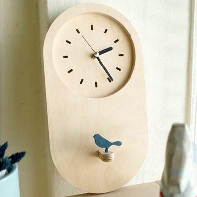 무소음벽시계 Birdie