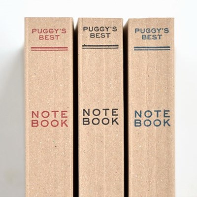 [HIGHTIDE] Paperback Puggy's Note book